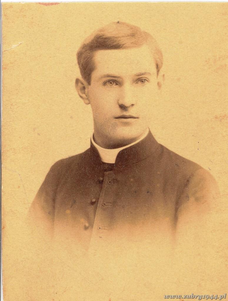 Zdjęcie z okresu pobytu w seminarium